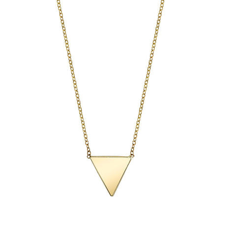 Carrie Hoffman l Triangle Necklace