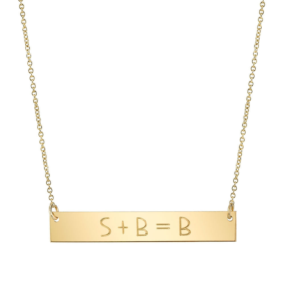 Equation Necklace
