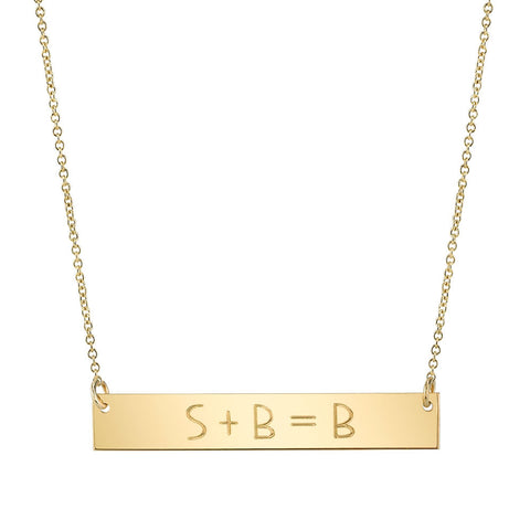 Carrie Hoffman Jewelry | Equation Necklace