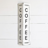 PDHG Tin Coffee 2 Sided Sign hx351087