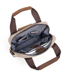MB205 Canvas Messenger Bag (options)