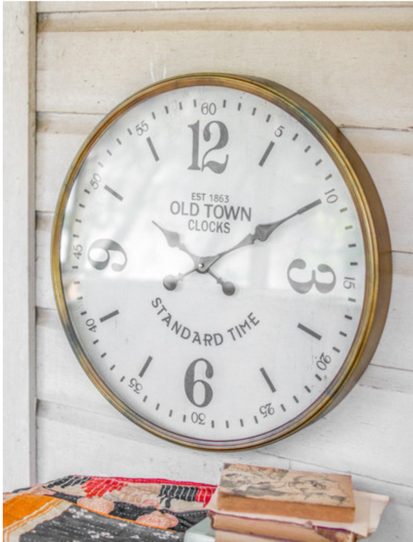 KLL Old Town Station Clock CHH1123