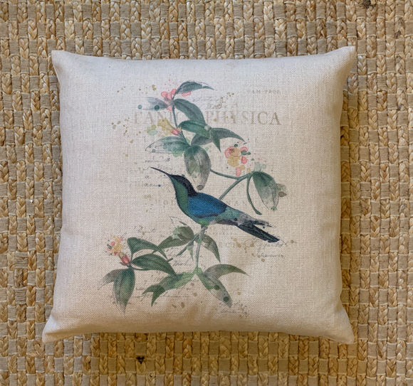 SP Hummingbird Pillow 3020-054