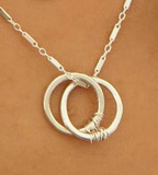 "FZ 18"" Sterling Silver ""Together"" Necklace"