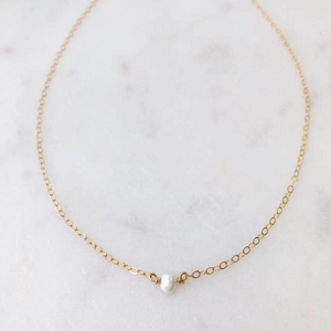 WI-F Mini Pearl Necklace (options)
