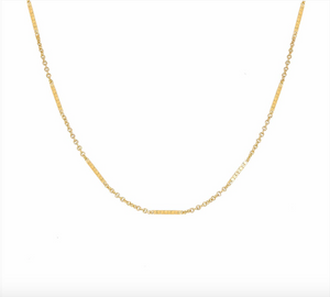 "MJ-F 14.5"" Shorty Choker Necklace"