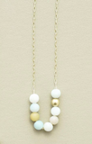 Brit-F Matte Amazonite Necklace