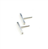 DBG-F Bar Stud Earrings (size options)