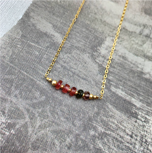 EG-F Tourmaline Necklace