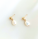 PTS-F Pearl Drop Earrings (options)