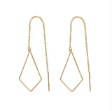 OFNA-F Kite Threader Earrings
