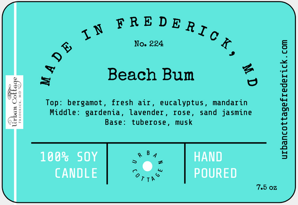 UC Candle - Beach Bum (options)