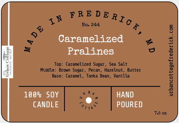 UC Candle - Caramelized Pralines (options)
