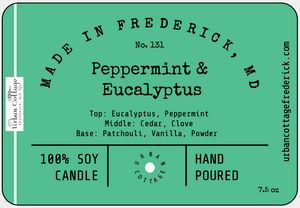 UC Candle - Peppermint & Eucalyptus (options)