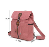 MF551 Canvas Backpack (color options)