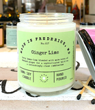 UC Candle - Ginger Lime (options)