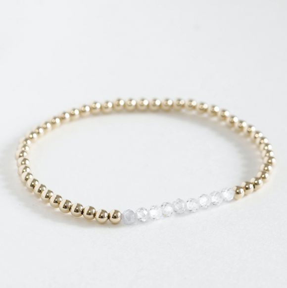 AGS-F Stacking Bracelet - Cubic Zirconia
