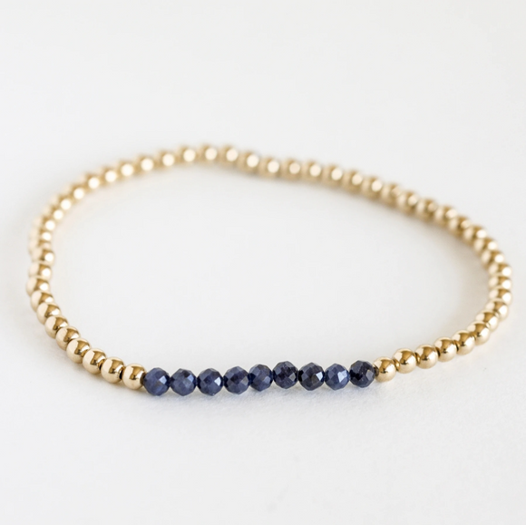 AGS-F Stacking Bracelet - Sapphire