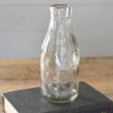 PDHG Vintage Milk Bottle Clear (options)  hx35965 or hx35964
