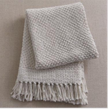SP Open Knit Throw (options) 5209-022
