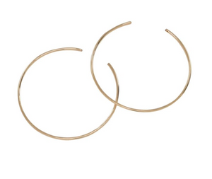 RK-F Circle Threader Earrings (options)