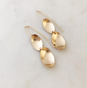 WI-F Curved Light Earrings (options)