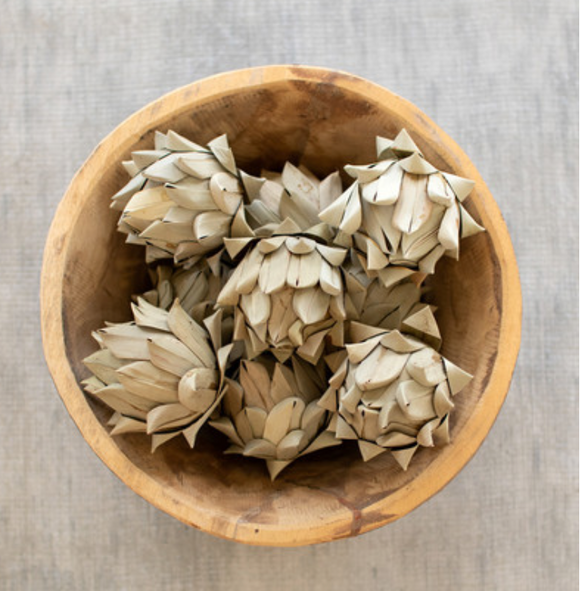 KLL NTRP1016 bag of 9 faux artichokes
