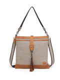 TB356 Canvas Crossbody Bag