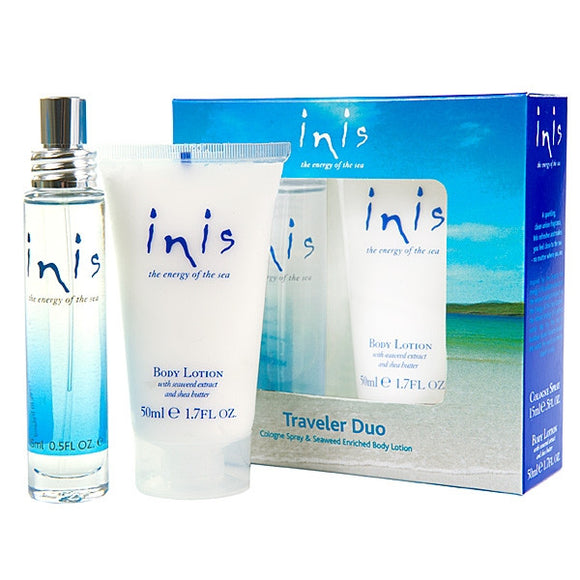 Inis Travel Duo - Cologne for men or women