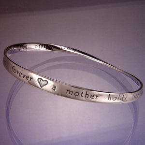 Mobius Bracelet - A Mother Holds Her Children's Hands