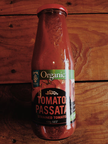 Passata (Strained Tomatoes)