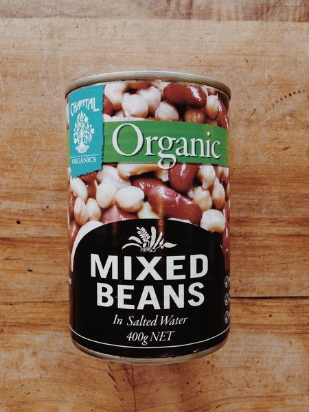 Mixed Beans Canned