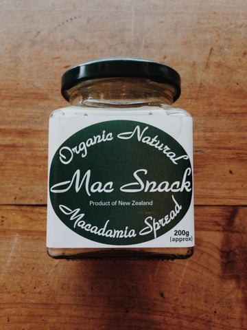 Macadamia Spread Natural
