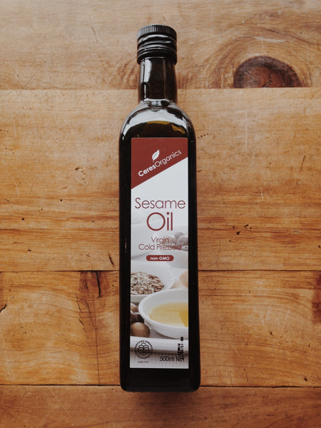 Virgin Cold Pressed Sesame Oil