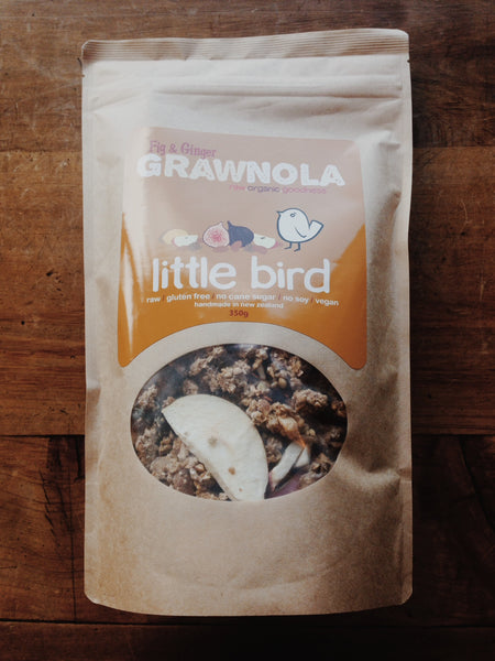 Little Bird Fig & Ginger Cereal | Soul Food Organic NZ