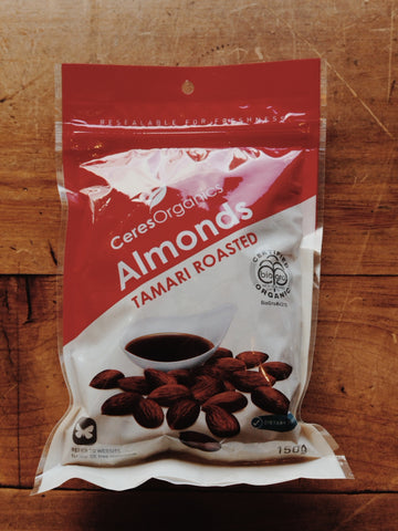 Almonds Tamari Roasted