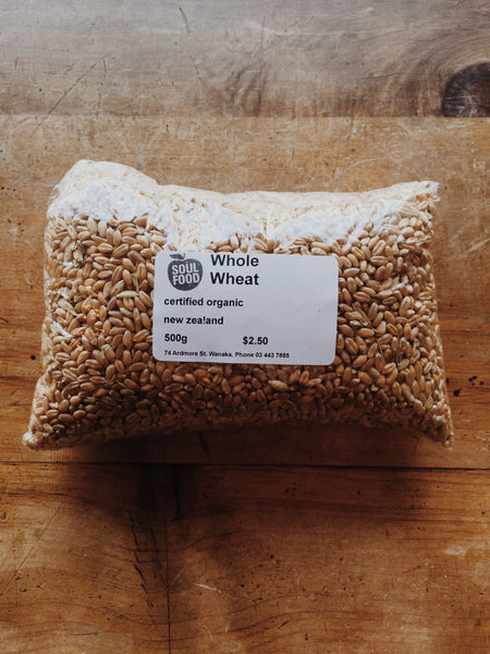 Buy organic whole wheat online