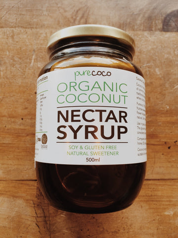 Purecoco Organic Coconut Nectar Syrup | Soul Food Organic NZ