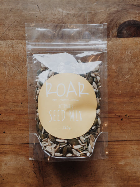 Roar Activiated Seed Mix | Soul Food Organic NZ