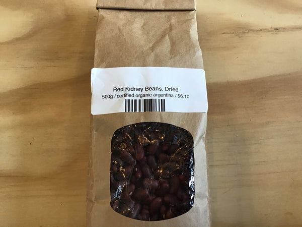Red Kidney Beans, Dried