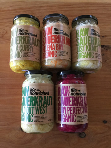 Be Nourished Sauerkraut