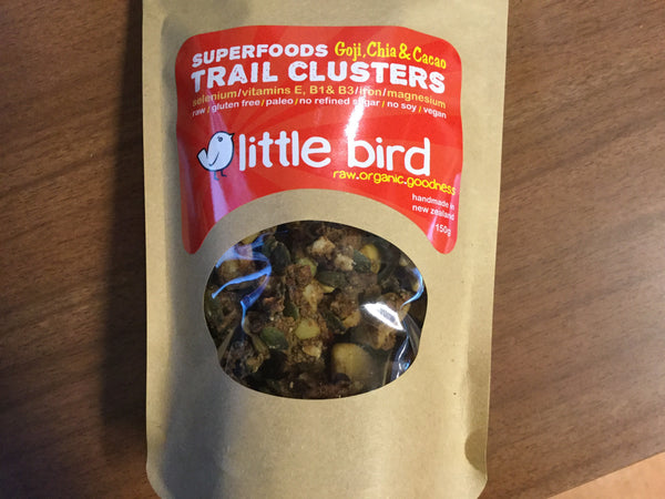 Superfood Goji, Chia and Cacao Trail Clusters