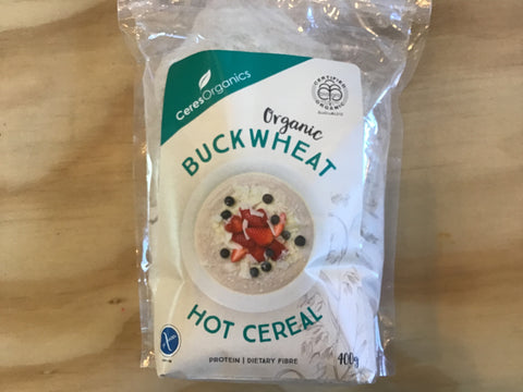 Buckwheat hot cereal