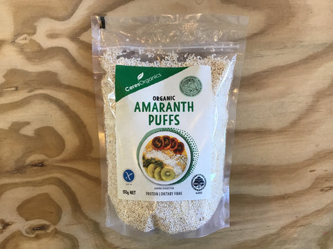 Amaranth Puffs