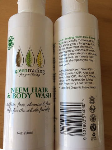 Neem Hair and Body Wash