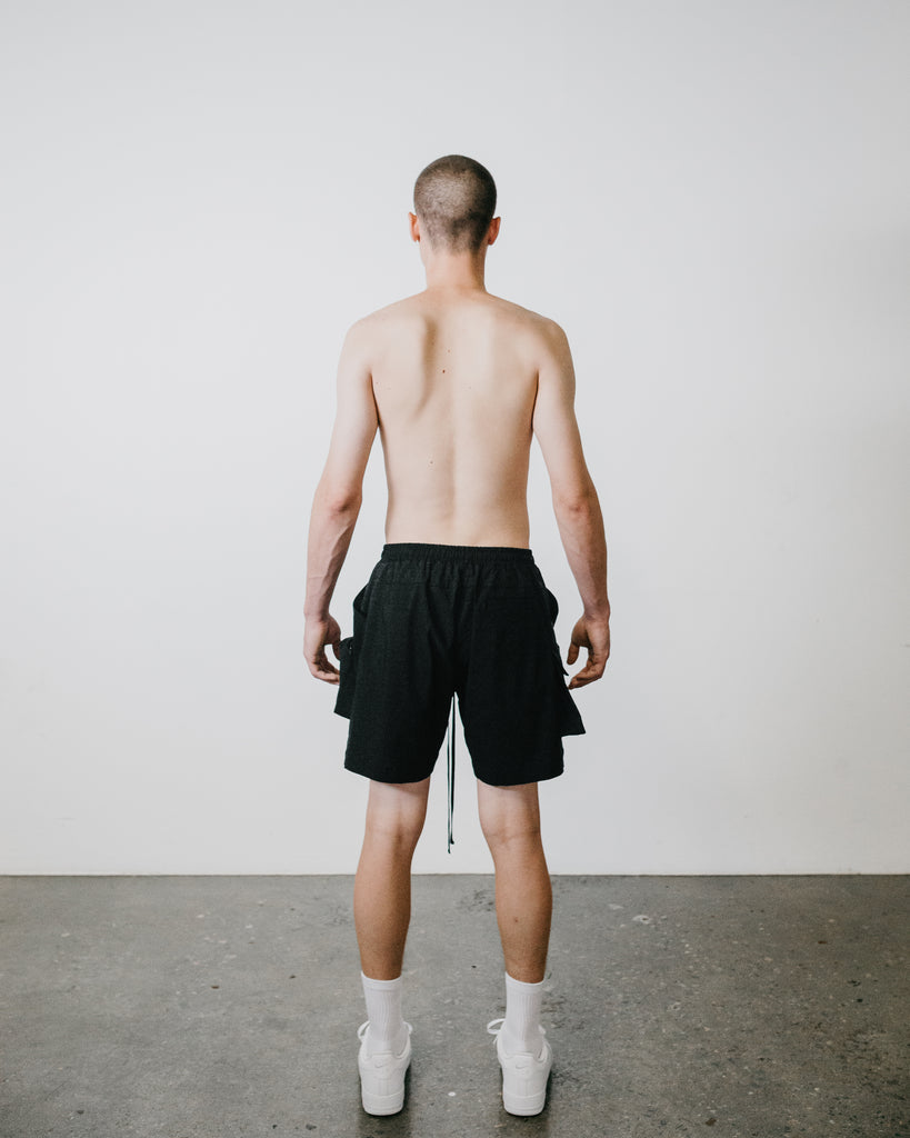 CARGO TROUSER SHORT - Joseph Carl high-end luxury Streetwear