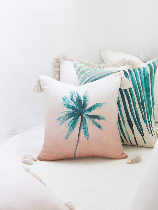 DESERT PALM CUSHION - AUDREY GACHET