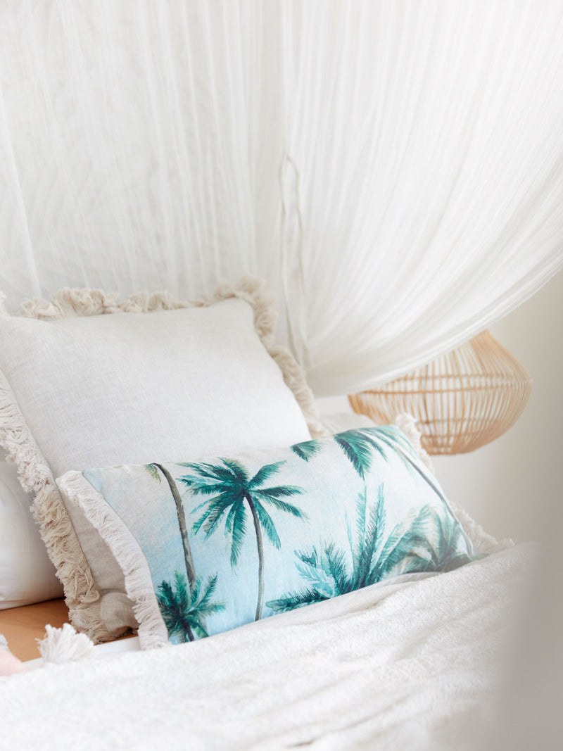Palm Grove cushion - AUDREY GACHET