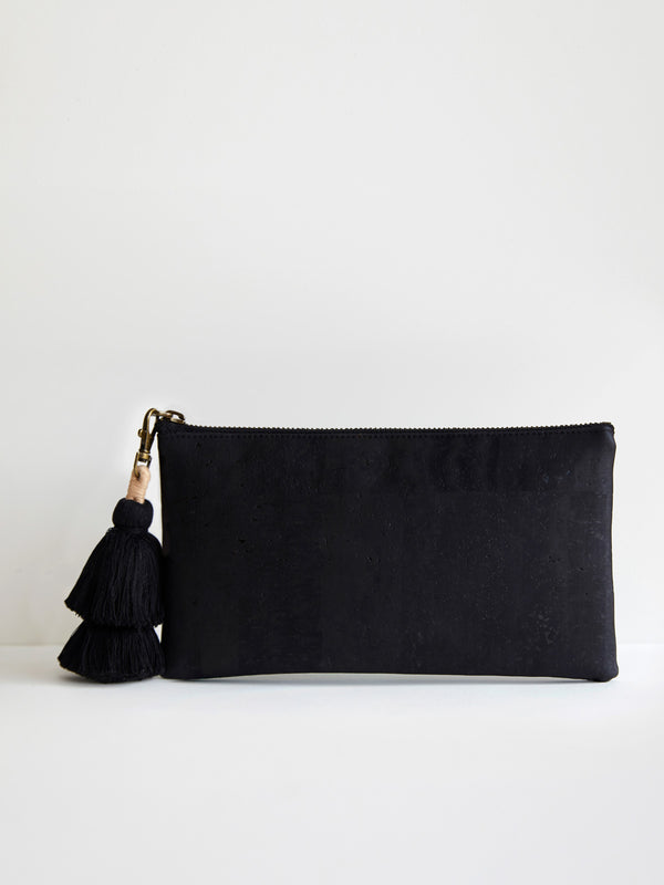 BLACK PALMS CLUTCH - AUDREY GACHET