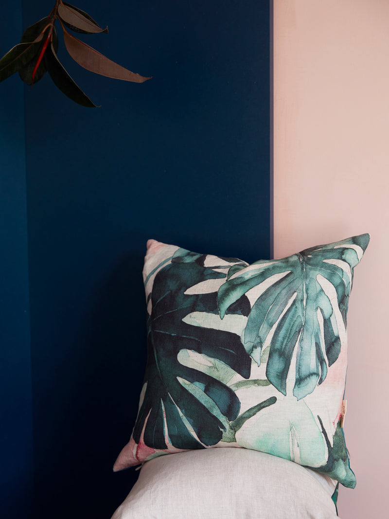 MONSTERA CUSHION - AUDREY GACHET